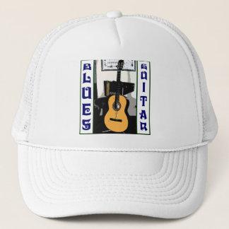 Blues-Gitarren-Hut Truckerkappe