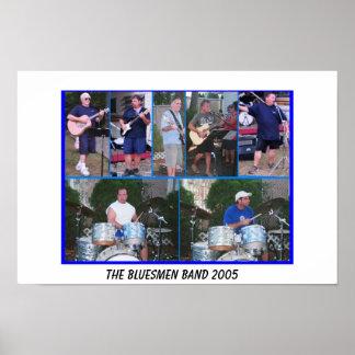 Bluesmen-Band PLAKAT