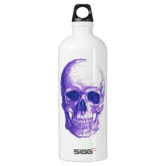 Bluesschädel Aluminiumwasserflasche