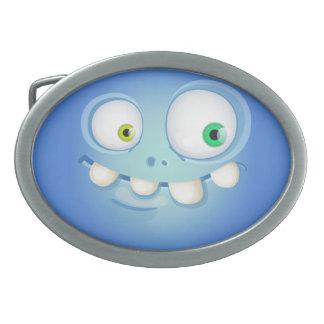 Bluey Muglee - Cowboy-Gurt-Gesicht Ovale Gürtelschnalle