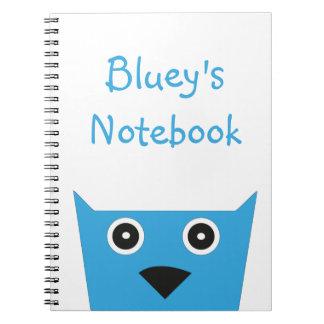 Blueys Notizbuch Notizblock