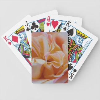 Blühen der Rose Bicycle Spielkarten