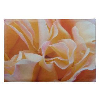 Blühen der Rose Tischset