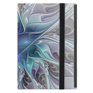 Blühen Sie abstrakte moderne Fraktal-Blume mit Hülle Fürs iPad Mini