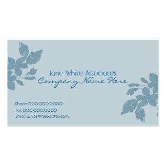 Blühen Sie Geschäfts-Karte Visitenkarten Vorlagen