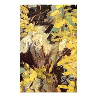Blühende Akazie verzweigt sich Vincent van Gogh. Briefpapier