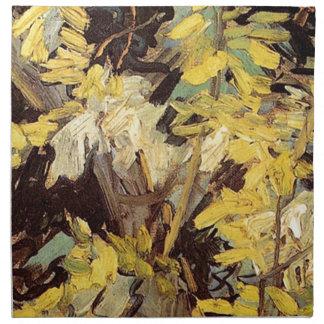 Blühende Akazie verzweigt sich Vincent van Gogh. Stoffserviette