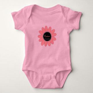 Blühende Ausstattung - fertigen Sie besonders an Baby Strampler
