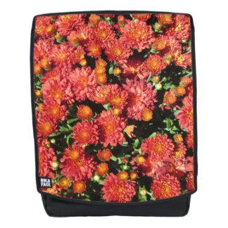 Blühende Chrysantheme Rucksack
