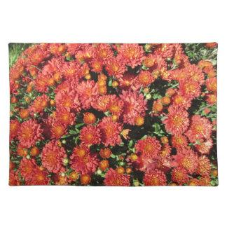 Blühende Chrysantheme Tischset