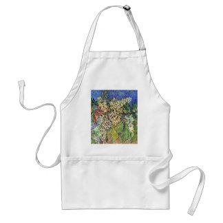 Blühende Kastanien-Niederlassungen, Van Gogh Schürze