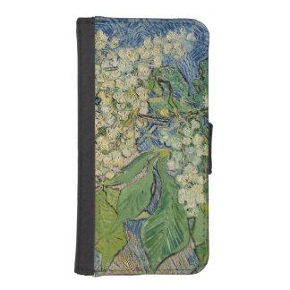 Blühende Kastanien-Niederlassungen Vincent van iPhone SE/5/5s Geldbeutel Hülle