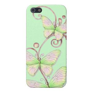Blühende Schmetterlinge 6 iPhone 5 Hülle