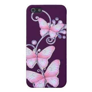 Blühende Schmetterlinge 7 iPhone 5 Hülle