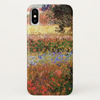 Blühender Garten Van Gogh, Vintage feine mit iPhone X Hülle