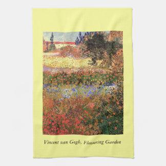 Blühender Garten, Vincent van Gogh. Handtuch