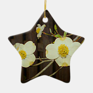 Blühender Hartriegel-Baum Missouris Keramik Ornament
