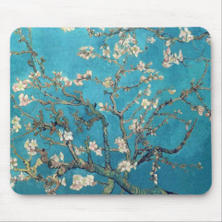 Blühender Mandelbaum durch Van Gogh Mousepad