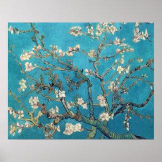 Blühender Mandelbaum durch Vincent van Gogh Poster