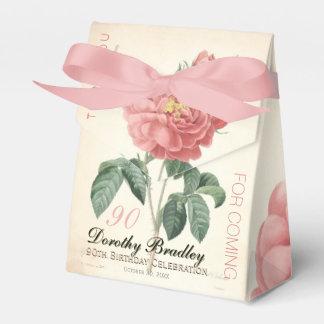 Blühender Rosen-90. Geburtstag danken Ihnen, Geschenkschachtel