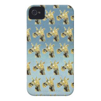 Blühendes Einhorn iPhone 4 Cover