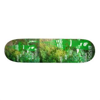 Blühendes Skateboard Skateboard Brett