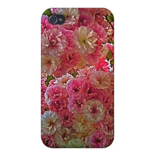 Blüht iPad Fall iPhone 4 Etuis
