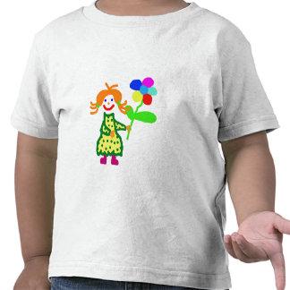Blümchen für dich - girl-shirt