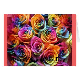 Blume, der glückliche Tag des Valentines Karte