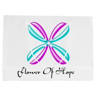 Blume der Hoffnungs-Geschenk-Tasche Große Geschenktüte