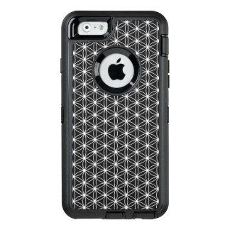 Blume der Leben-heiligen Geometrie OtterBox iPhone 6/6s Hülle