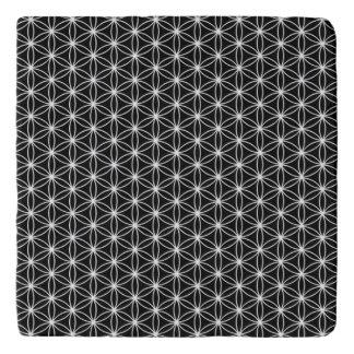 Blume der Leben-heiligen Geometrie Töpfeuntersetzer