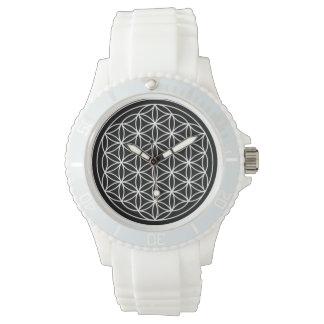 Blume der Leben-Uhr Armbanduhr