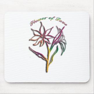 Blume der Liebe Mauspad