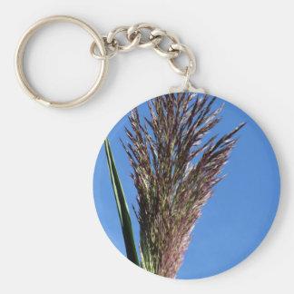 Blume der riesiges REEDPflanze Schlüsselanhänger