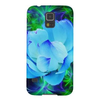 Blume des blauen Lotos und seine Bedeutung Samsung S5 Cover