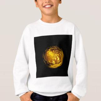 Blume des Gelbs in der Kugel Sweatshirt