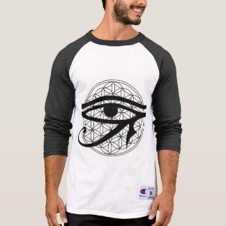 Blume des Leben-dritten Auges T-Shirt