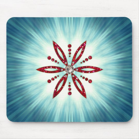 Blume des Lebens - Aphrodite Amulett Mousepad