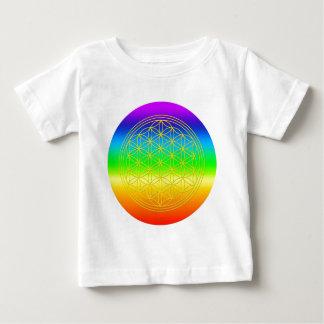 Blume des Lebens chakra 2 Baby T-shirt