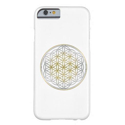 BLUME DES LEBENS/des Blume DES Lebens - zweifarbig Barely There iPhone 6 Hülle