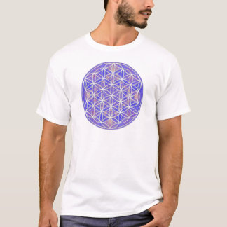 Blume des Lebens (Farbe 3) T-Shirt