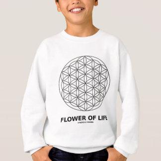 Blume des Lebens (heilige Geometrie) Sweatshirt
