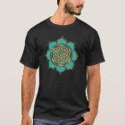 Blume des Lebens Lotus - türkis T-Shirt