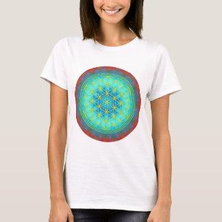 Blume des Lebens Motiv 11 T-Shirt