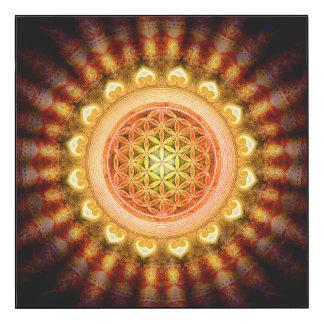 Blume des Lebens - Sonne