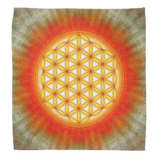 Blume des Lebens - Sonne II Kopftuch
