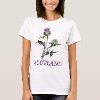 Blume des Schottland-Distel-T - Shirt