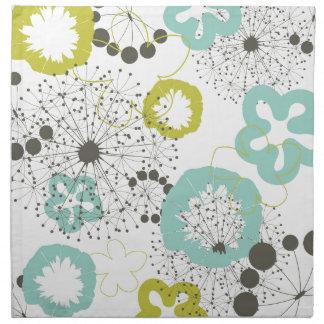 Blume ein background7 stoffserviette