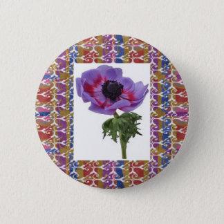 Blume einzigartig und elegante Geschenke des Runder Button 5,7 Cm